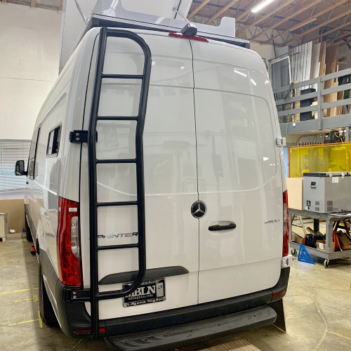 Owl Vans rear Ladder Mercedes Sprinter 2019+